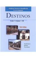 Destinos  3rd 2002 (Student Manual, Study Guide, etc.) edition cover