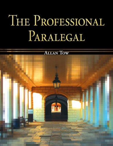 Professional Paralegal   2009 edition cover