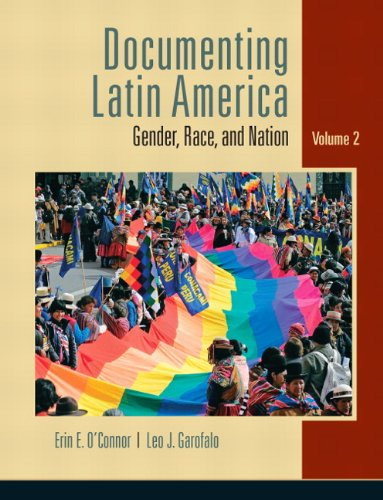 Documenting Latin America Gender, Race, and Nation  2011 edition cover