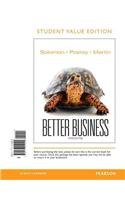 Better Business, Student Value Edition  3rd 2014 edition cover