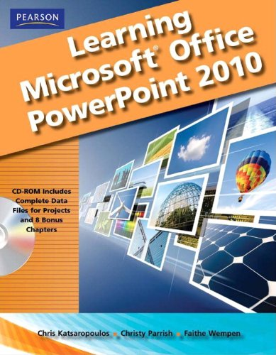 Learning Microsoft Office Powerpoint 2010   2012 (Student Manual, Study Guide, etc.) 9780135112090 Front Cover
