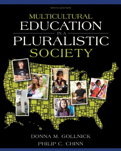 Multicultural Education in a Pluralistic Society  9th 2013 (Revised) 9780137035090 Front Cover