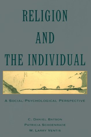 Religion and the Individual A Social-Psychological Perspective 2nd 1993 (Revised) edition cover
