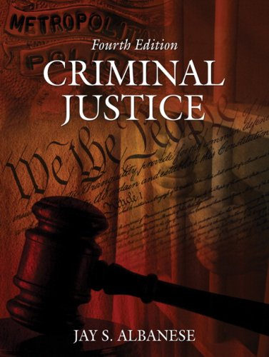 Criminal Justice  4th 2008 edition cover