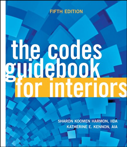 Codes Guidebook for Interiors  5th 2011 9780470592090 Front Cover