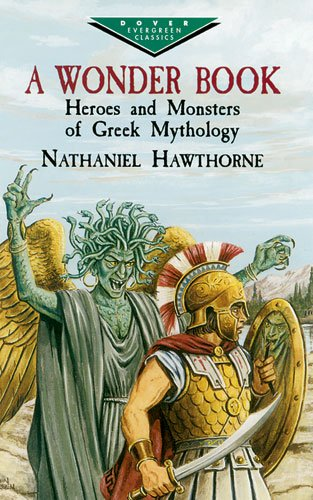 Wonder Book Heroes and Monsters of Greek Mythology  2003 edition cover