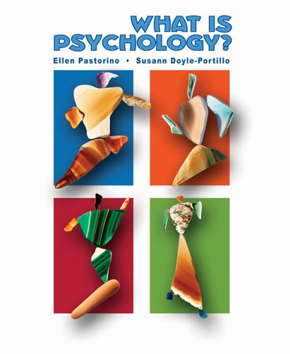 What Is Psychology?   2006 9780495032090 Front Cover