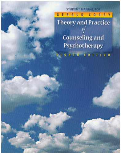 Theory and Practice of Counseling and Psychotherapy  8th 2009 edition cover