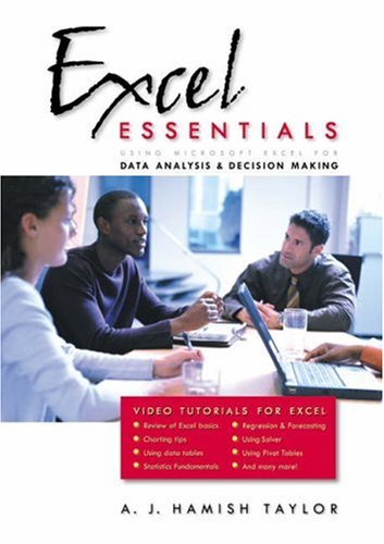 Excel Essentials Using Microsoft Excel for Data Analysis and Decision Making  2003 9780534393090 Front Cover
