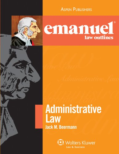 Administrative Law  3rd 2010 (Student Manual, Study Guide, etc.) edition cover