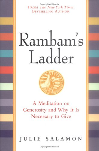 Rambam's Ladder A Meditation on Generosity and Why It Is Necessary to Give  2003 (Teachers Edition, Instructors Manual, etc.) edition cover
