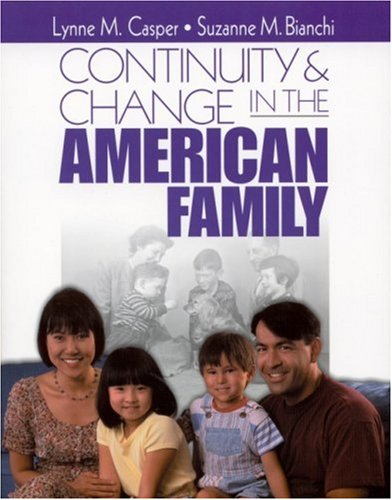 Continuity and Change in the American Family   2002 edition cover