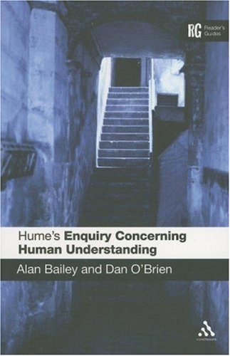 Hume's Enquiry Concerning Human Understanding   2006 edition cover