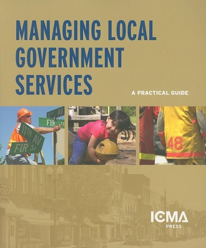 Managing Local Government Services  2006 edition cover