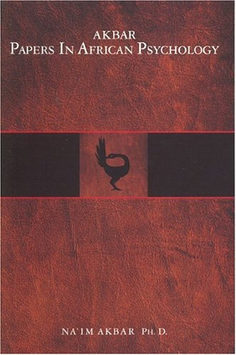 Akbar Papers in African Psychology 1st 2003 edition cover