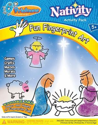 Printoons: Nativity Activity Pack  2010 9781400316090 Front Cover