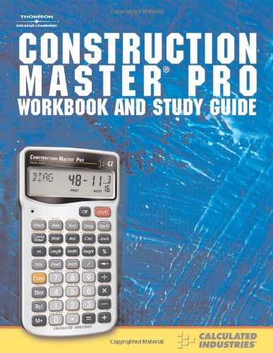 Construction Master   2007 (Student Manual, Study Guide, etc.) edition cover