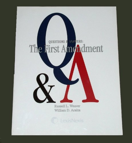 Questions and Answers First Amendment 2nd 2010 edition cover