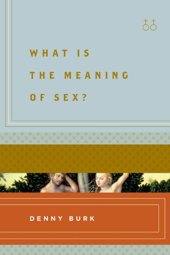 What Is the Meaning of Sex?  N/A edition cover