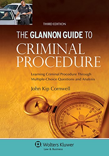 Glannon Guide to Criminal Procedure  3rd 2015 (Student Manual, Study Guide, etc.) 9781454850090 Front Cover