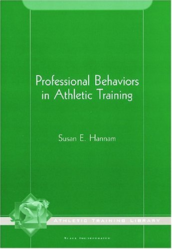 Professional Behaviors in Athletic Training  N/A edition cover