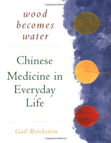 Wood Becomes Water Chinese Medicine in Everyday Life  1998 9781568362090 Front Cover