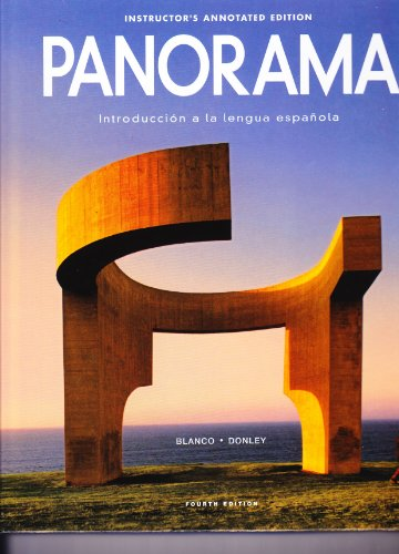 PANORAMA:INTRO....>INSTRS.ANNO N/A edition cover