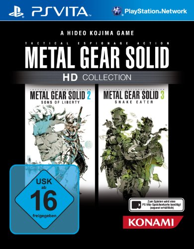 Metal Gear Solid - HD Collection PlayStation Vita artwork