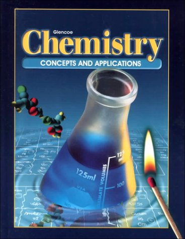 Chemistry : Concepts and Applications  1999 edition cover