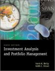 Investment Analysis and Portfolio Management  6th 2000 9780030258091 Front Cover
