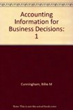 Accounting Information for Business Decisions 1st 2000 edition cover