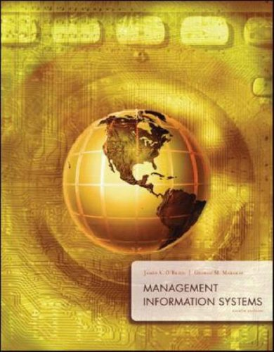 Management Information Systems  8th 2008 (Revised) 9780073323091 Front Cover