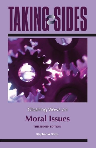 Clashing Views on Moral Issues  13th 2012 edition cover
