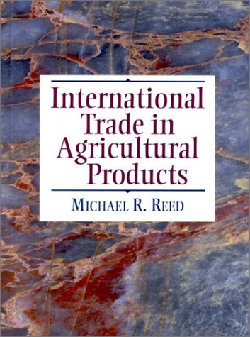 International Trade in Agricultural Products   2001 edition cover
