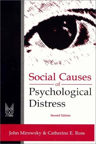 Social Causes of Psychological Distress  2nd 2002 edition cover