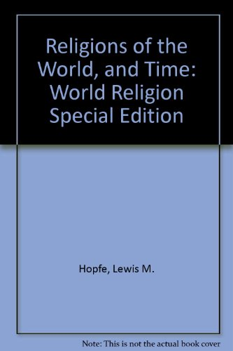 Religions of the World + Time: World Religion  2011 edition cover