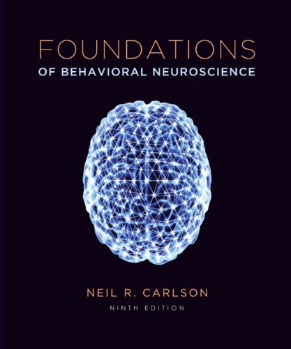 Foundations of Behavioral Neuroscience  9th 2014 edition cover
