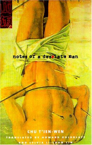 Notes of a Desolate Man  Reprint edition cover