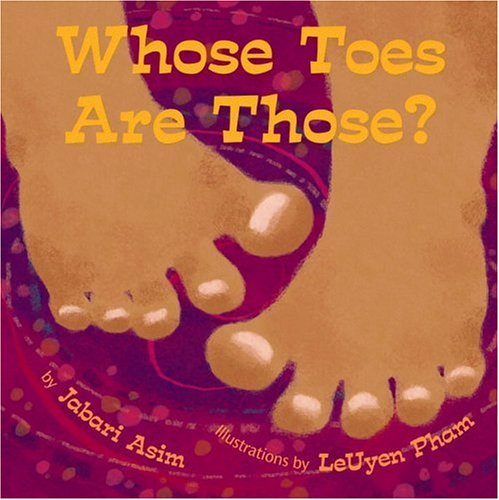Whose Toes Are Those?   2006 edition cover