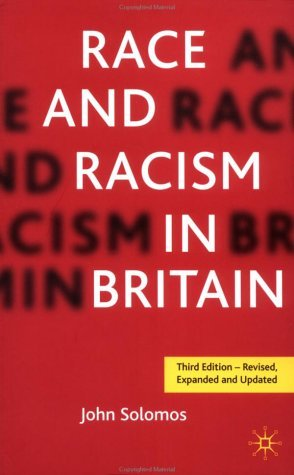 Race and Racism in Britain  3rd 2003 (Revised) edition cover