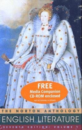 Norton Anthology of English Literature  7th 2000 edition cover
