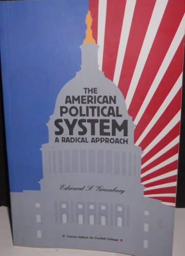 AMERICAN POLITICAL SYSTEM >CUS N/A 9780536561091 Front Cover