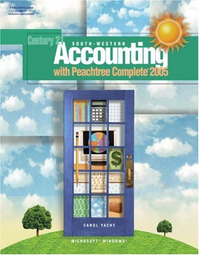 South-Western Accounting with Peachtree� Complete 2005   2006 9780538442091 Front Cover