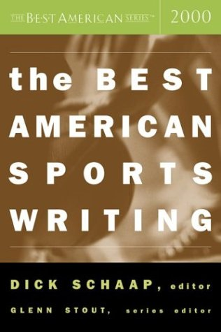 Best American Sports Writing 2000   2000 edition cover