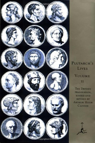Plutarch's Lives The Lives of the Noble Grecians and Romans N/A edition cover