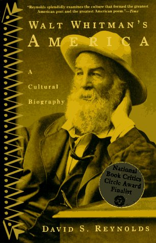 Walt Whitman's America A Cultural Biography  1996 edition cover