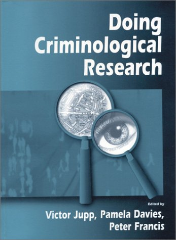 Doing Criminological Research   2000 9780761965091 Front Cover