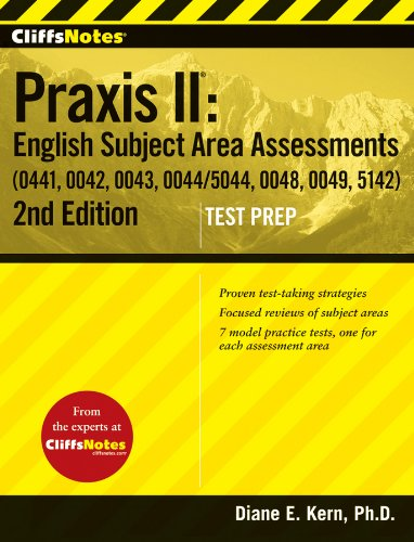English Subject Area Assessments (0041, 0043, 0044/5044, 0048, 0049, 5142)  2nd 2013 9781118102091 Front Cover