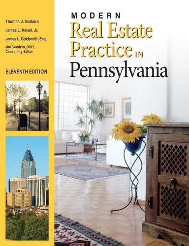 Modern Real Estate Practice in Pennsylvania 11E Update 11th (Revised) edition cover