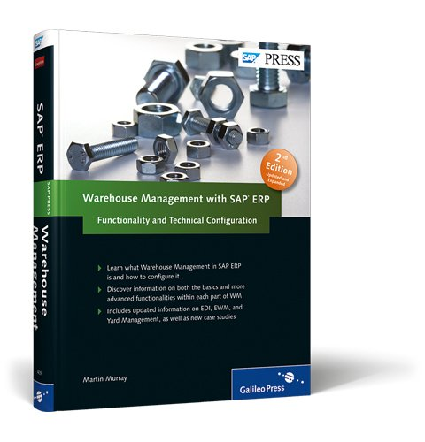 Warehouse Management with SAP ERP Functionality and Technical Configuration 2nd 2012 edition cover